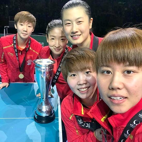 Командный Кубок Мира -  Лондон 2018 г. 2facebook-ITTFWorld-women-china-win